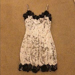 LF Crushed Velvet Dress